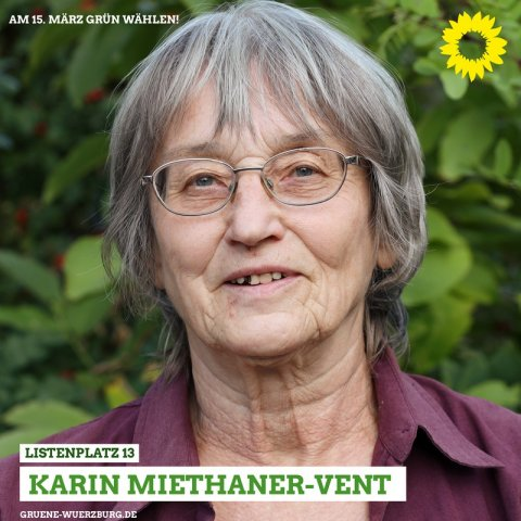 KARIN MIETHANER-VENT, Foto: Indra Anders